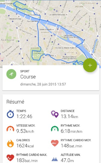 endomondo-course